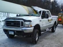 impaled truck