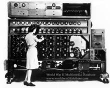 NCR N-530 Bombe Enigma Decryption Machine